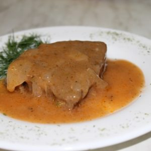Говядина в кисло-сладком соусе