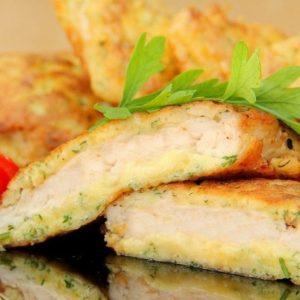 Филе цыпленка в сыре