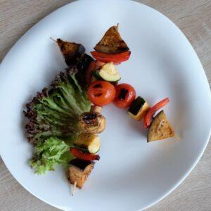 Овощи гриль на шпажке 5