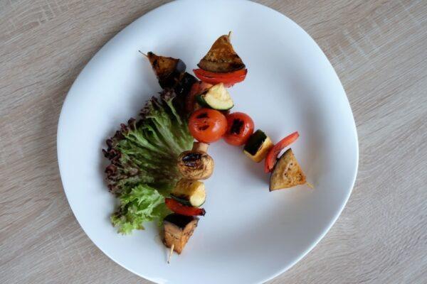 Овощи гриль на шпажке 3