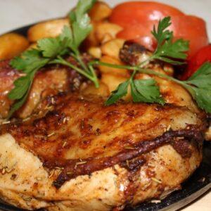 Цыпленок гриль с розмарином 12