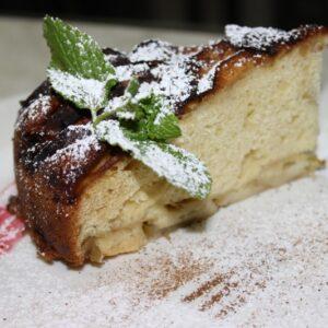 Пирог яблочный (пор) 4