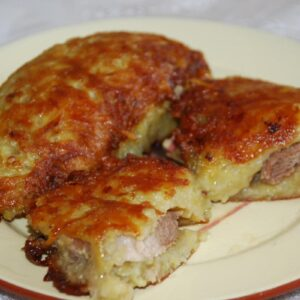 Свинина в картофельной панировке 2