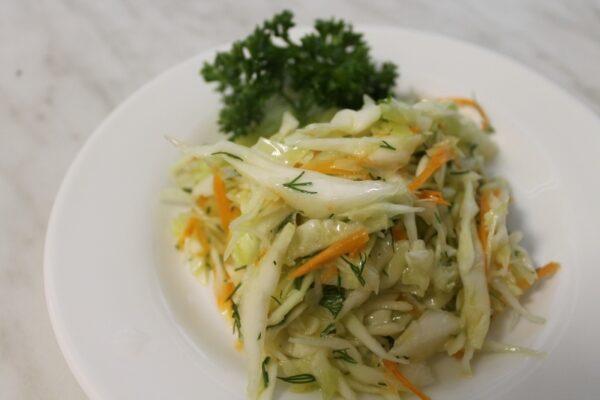 Салат из белокочанной капусты 3