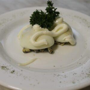 Яйца фаршированные грибами 3