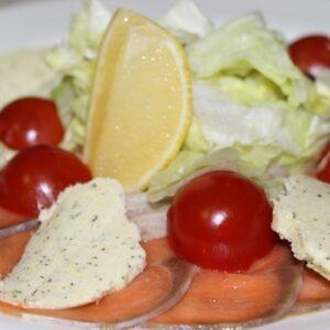 Карпаччо из лосося 2