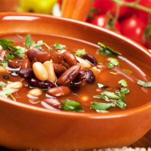 Суп картофельный с  фасолью 5